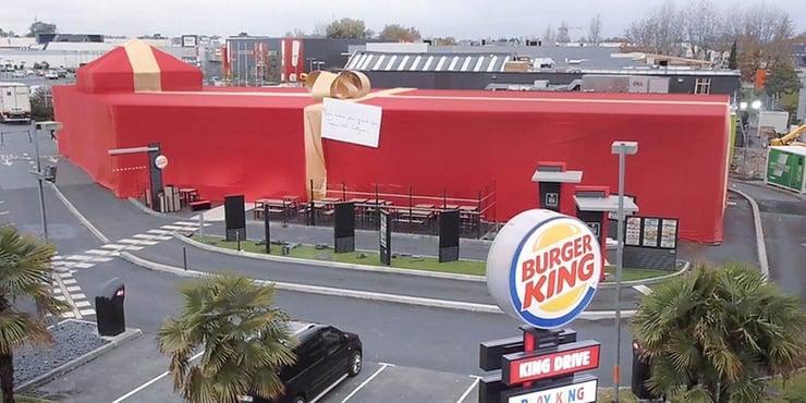 Holiday Marketing Campaigns - Burger King